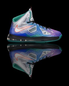 "Nike LeBron X Pure Platinum aks ""Re-Entry"""