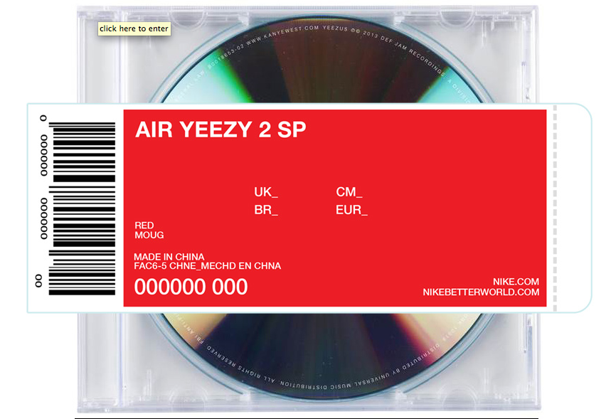 Yeezy 2 SP Red Yeezus Giveaway