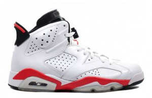 Jordan Retro 6 White Infrared restock