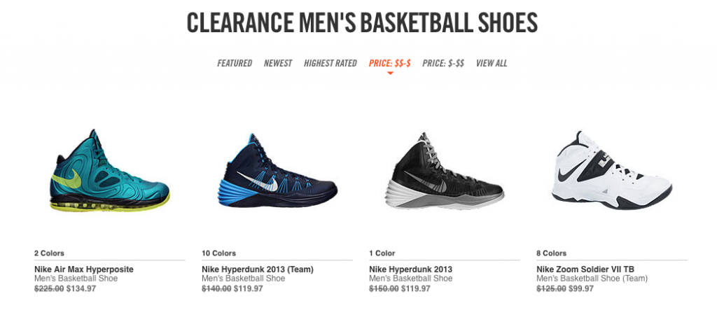 Nike.com sale, coupons, deals