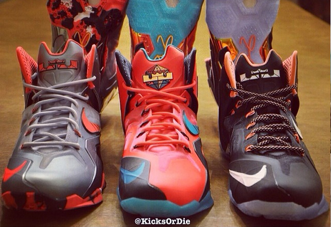 LeBron 11 Elite Colorways