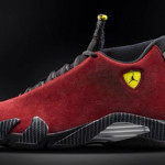 Air Jordan Retro 14 Red Suede AKA Ferrari