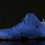 LeBron 11 EXT Blue Suede Side