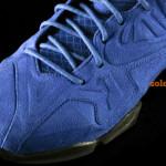 LeBron 11 EXT Blue Suede Toe Box