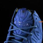 LeBron 11 EXT Blue Suede Tongue