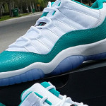Jordan Retro 11 Low Aqua GS