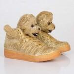 Glitter Bear Gold $123