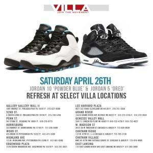 Villa Jordan Restock April 2014