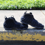 Nike Foamposite Suede Blackout