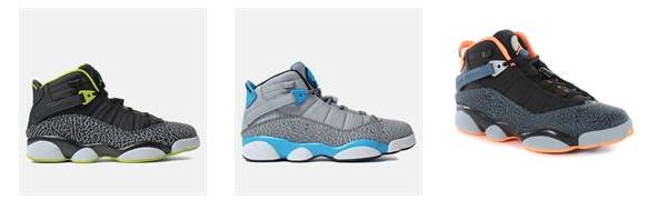 Jordan 6 Rings for $122