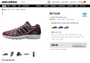 Adidas ZX Flux Prism Restock