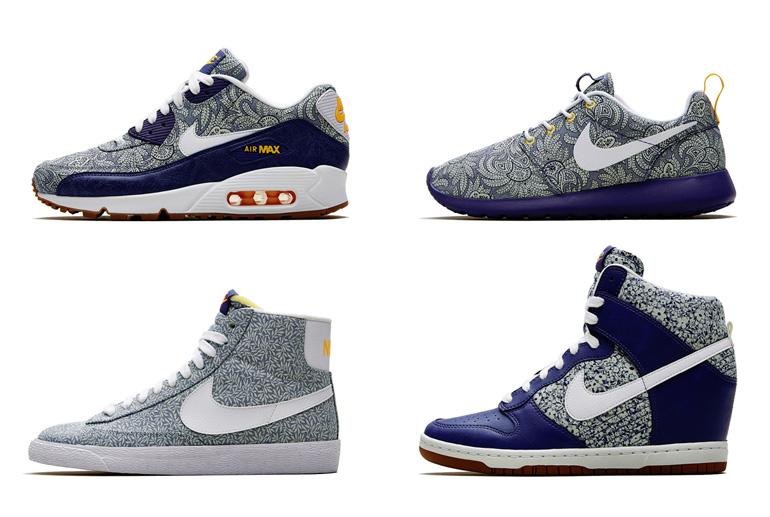 Nike Roshe Run Liberty Blue Recall/White-Atomic Mango \\u0026middot; Nike Air