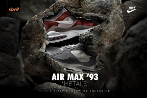 size x nike air max 93 metals