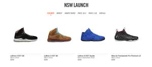 Nike Online LeBron Restock