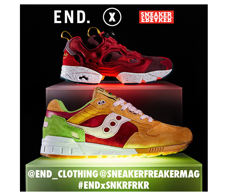 END x Saucony Burger Giveaway