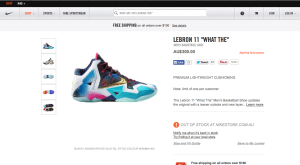 What The LeBron 11 AU release