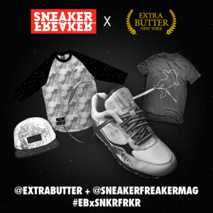 Extra Butter x Saucony Moonwalker online giveaway