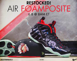 Jimmy Jazz Yeezy Foamposite Restock