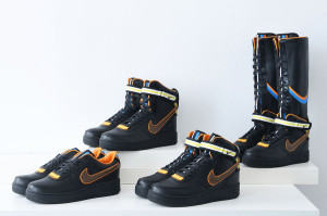 Riccardo Tisci R.T. x Nike Air Force 1 Black