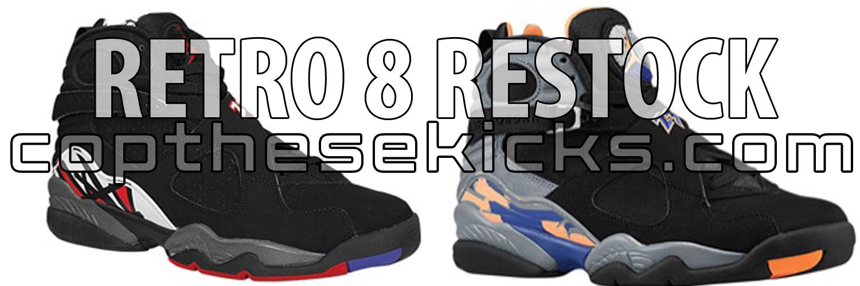 Jordan Retro 8 Restock