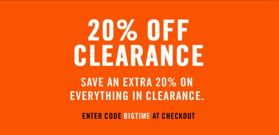 20% Off Clearance from Nike