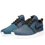 Flyknit Roshe Run Neon Turquoise Blue