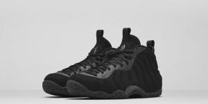 Nike Foamposite One Triple Black Suede