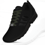 ZX Flux Tripple Black Blackout