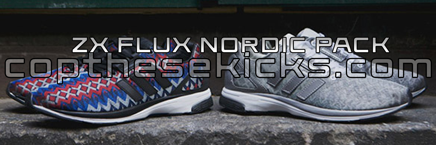 Adidas ZX Flux Nordic Pack Available Now