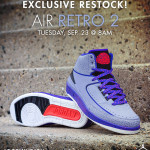 Jimmy Jazz Air Jotdan Retro 2 Iron Purple Restock.