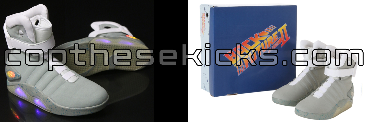 Official Back To The Future Air Mag Release