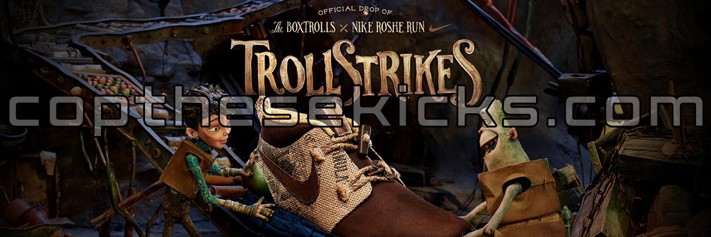 BoxTrolls x Nike Roshe Run TrollStrike