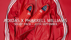 Adidas Consortium x Pharrell Williams Solid Pack