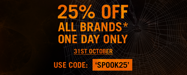 Halloween Sale 25% Off Sitewide