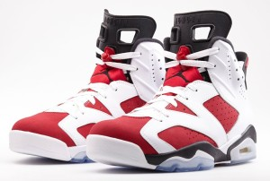 Air Jordan Retro 6 Carmine Outlet Restock