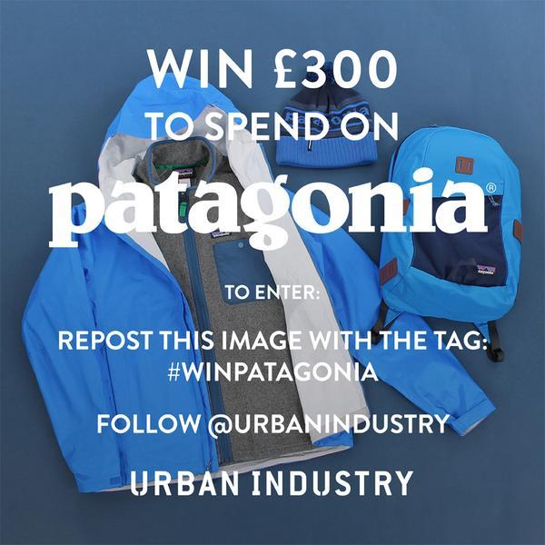 Patagonia x Urban Industry Giveaway