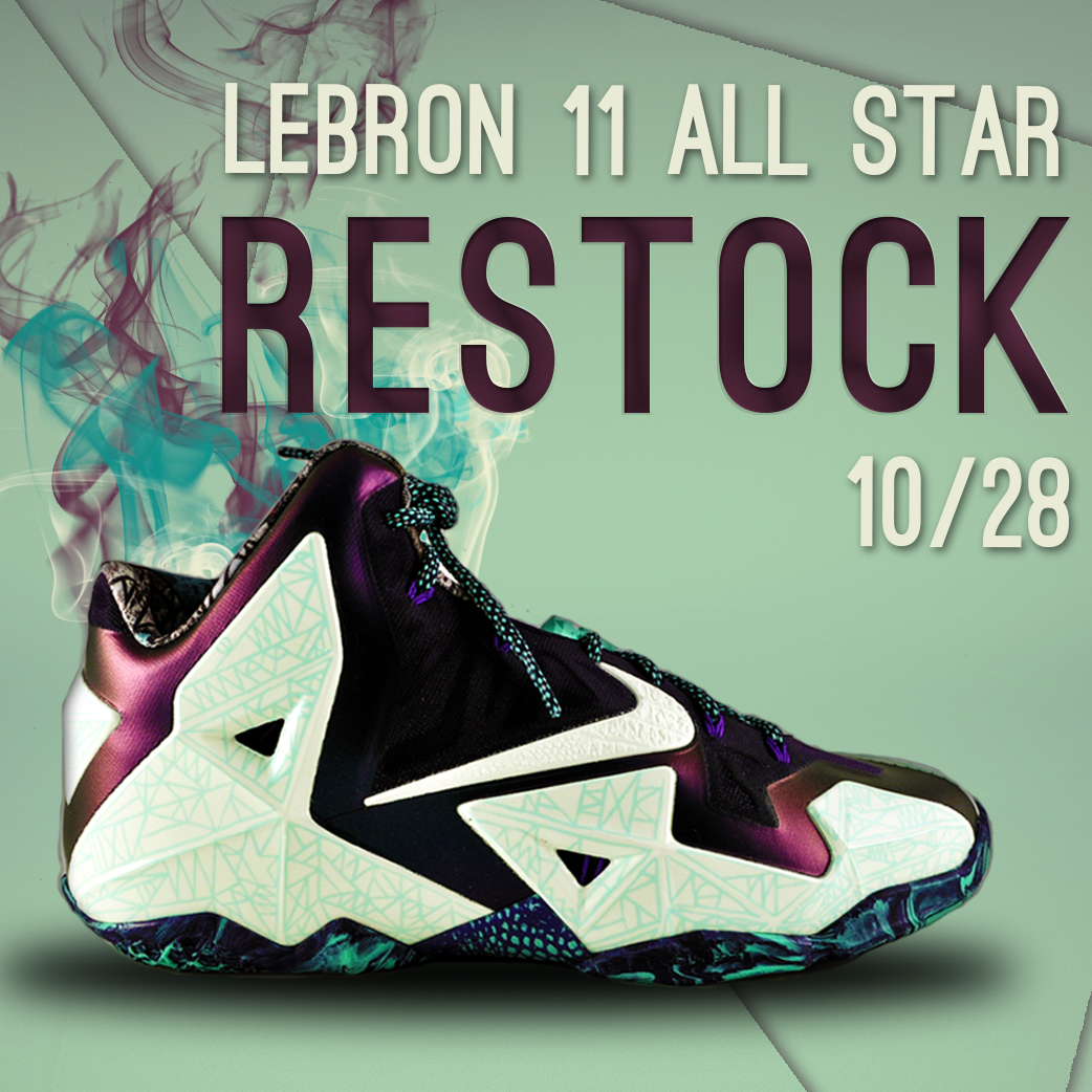 LeBron 11 All Star Restock