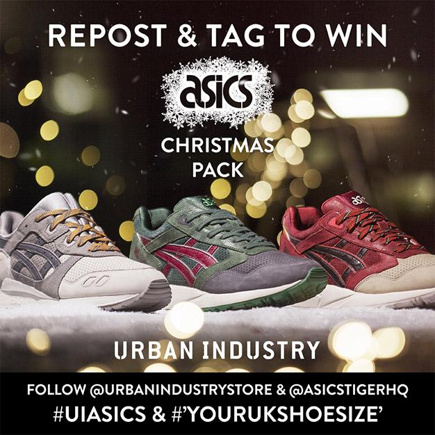 Win the Asics Christmas Pack