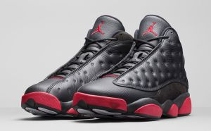 Retro 13 Black Gym Red Dirty Bred 414571-003