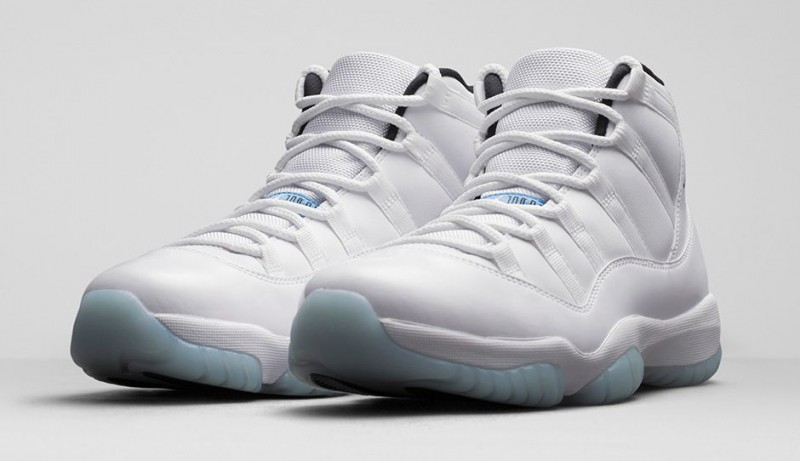 Retro 11 Legend Blue Raffle Tickets