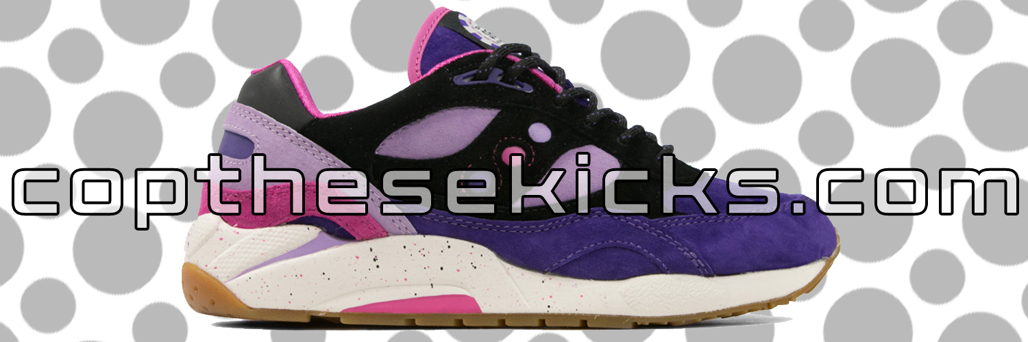 Saucony x Feature LV Barney Release Links