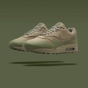 NikeLab Air Max 1 Patch Khaki Steel Green