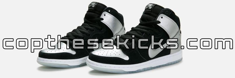 Nike SB Dunk High Pro Metallic Silver Release