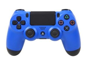PS4 Wave Blue Controller