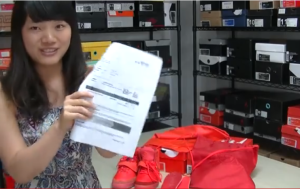 Fake Yeezy Red Octobers Fake Nike Receipt