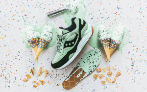 Saucony Scoops G9 Mint Chocolate Chip
