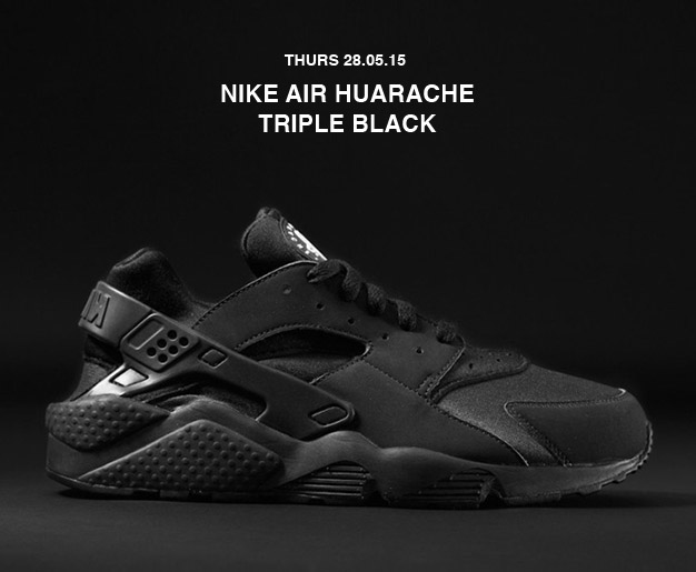 Nike Huarache Triple Black