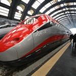 Milan Frecciarossa Bullet Train