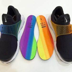 Nike #BeTrue Rainbow Sock Dart