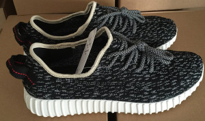 Horribly Fake Pirate Black Yeezy Boost 350